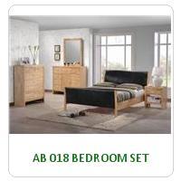 AB 018 BEDROOM SET